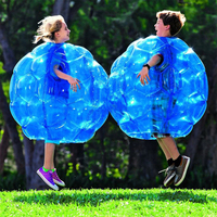 2PCS Zorb Ball 60cm 90cm with Air Pump PVC Inflatable Bubble Soccer Family Outdoor Game Sports Toy Ball for Adult & Children