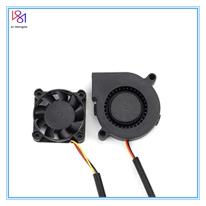 <font><b>4010</b></font> 5015 DC 5V Prusa i3 MK3 Cool <font><b>Blower</b></font> Fan Kit Extruder Hotend Cooler Radiator for 3D Printer DIY Parts Accessories image