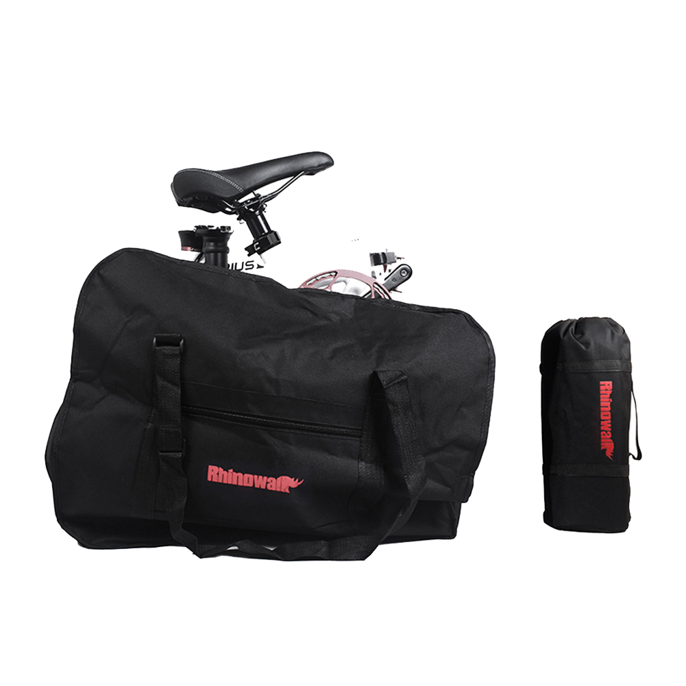 Travel Waterproof Polyester Packing <font><b>Carrier</b></font> Bag Pouch Portable Large Bycicle <font><b>Accessories</b></font> Transport Loading For Folding <font><b>Bike</b></font> image