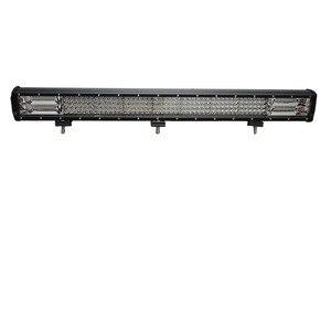 Image 4 - Quad שורה 4/7/17/20/23/28/36 אינץ LED עבודת אור בר Offroad טרקטורונים 12V 4X4 ספוט מבול עבור SUV משאית ערפל LED נהיגה אור LED בר