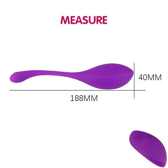 Liquid Silicone Erotic Jump Egg Remote Control Female Vibrator Clitoral Stimulator Vaginal G-spot Massager Sex Toy for Couples 5