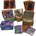 42 pces yu gi oh cartões raros yu gi oh inglês jogo cartões de papel crianças brinquedos coleção yu-gi-oh cartões presente de natal com caixa