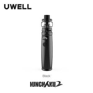 Image 2 - UWELL Nunchaku 2 ערכת 100W Vape Mod 5ML Nunchaku 2 טנק רשת סליל תמיכה 18650 20700 21700 סוללה e סיגריה Vape ערכת