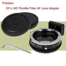 Fotodiox EF L ND מצלמה מתאם טבעת AF עדשת מתאם עבור Canon EF EF S כדי Panasonic S1 S1R S1H Sigma FP עם ND מצערת מסנן