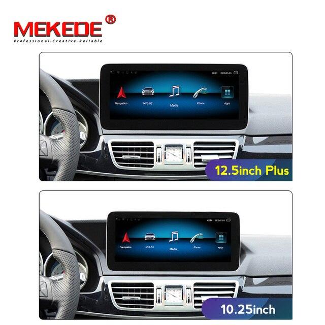 10.25 inch Android System Car GPS Navigation Multimedia Player for Mercedes Benz E Class W212 E200 E230 E260 E300 S212 2009 2015