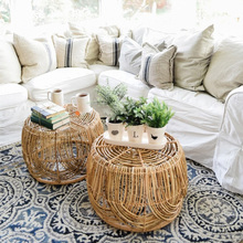 Rattan Table Small Home American Storage-Basket Country-Style Sundries Hand-Woven
