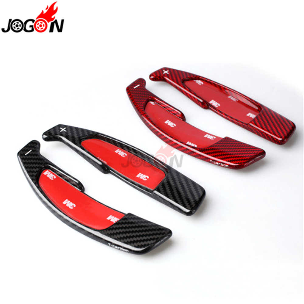 Carbon Fiber For Benz W204 C63 C65 A45 CLA45 CLS63 E63 GLA45 GL63 G63 S63 SL63 ML63 Steering Wheel Paddle Extension Shifter Trim
