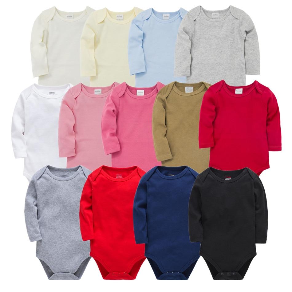 Newborn Baby Bodysuit JUmpsuit Long Sleeve Cotton Baby Boy Clothes 0-24M New Born Body Clothing Infant Onesie Roupas Bebe De
