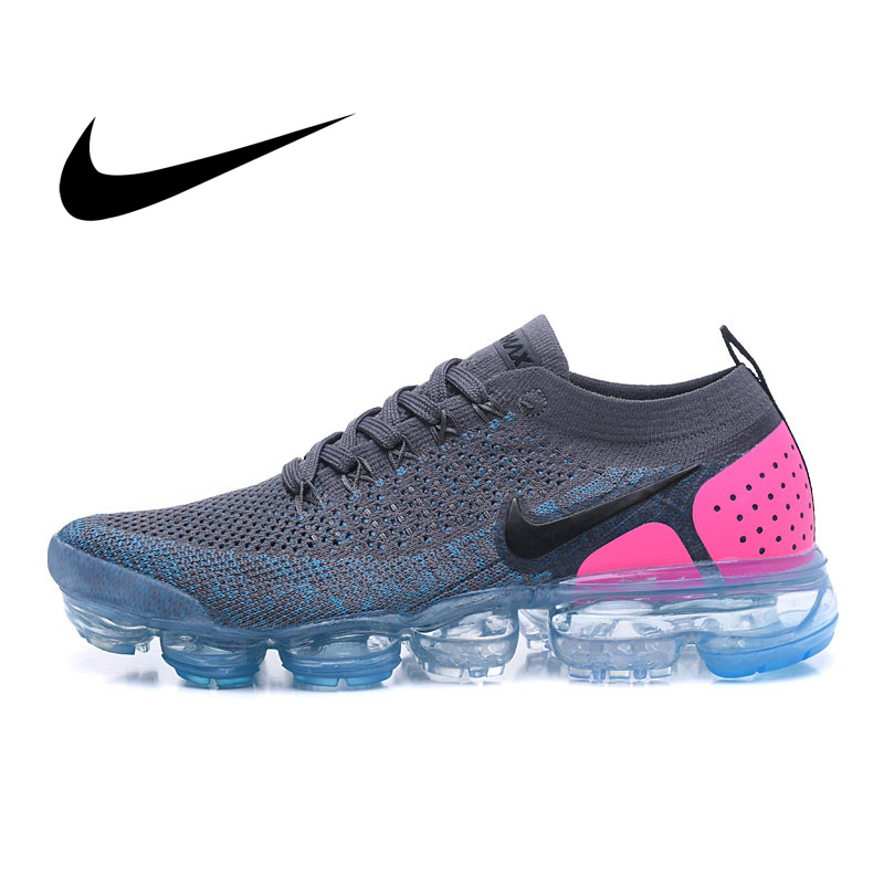 Original Authentic NIKE AIR VAPORMAX FK 2.0 Women Fashion Sneakers Stitching Color Breathable Running Shoes Cozy Durable 942843