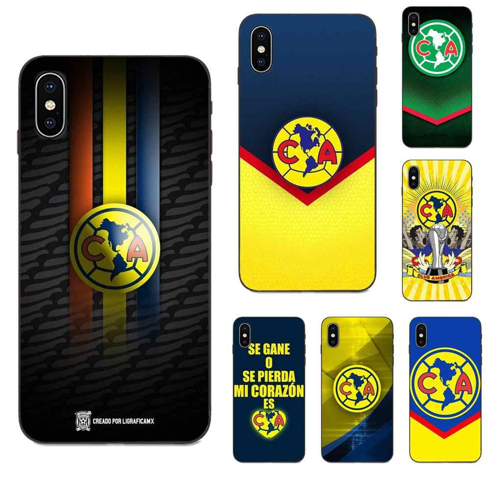 Club América logotipo para Apple iPhone 11 X XS X Max XR Pro Max 4 4S 5 5S SE 6 6S 7 8 Plus DE NUEVO ESTILO ÚNICO