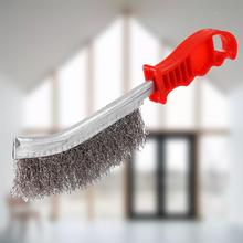 Wire Brush Stainless Steel Wire Brushe Rust Cleaner Clear Pl