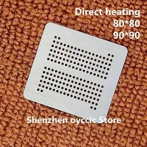 Direct heating 80*80 90*90 H9CCNNNCLTMLAR-NUD H9CCNNNBKTMLBR-NTD H9CCNNN8LTAL-ARNTD FBGA178 LPDDR3 BGA Stencil Template(China)
