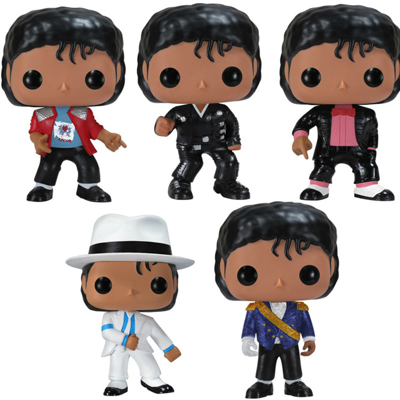 Funko POP BEAT IT Dangerous MICHAEL JACKSON Anime Figure PVC Action Figure Collection Model Children Toys For Kids Birthday Gift