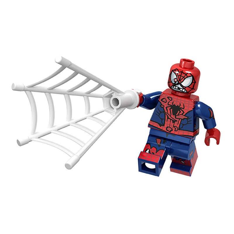 Única venda blocos de construção super heróis colossus wolverine deadpool homem-aranha máquina de assassinato figuras para crianças brinquedos jm65