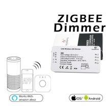 Беспроводной контроль диммер СВЕТОДИОДНЫЙ Контроллер освещения 12-24 В для Zigbee APP Smart2.4G