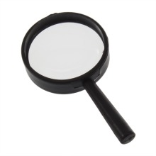 hot Top Handheld Reading 5X Magnifier Hand Held Magnifying 25mm Mini Pocket Glass Children