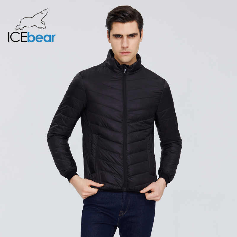 ICEbear 2020 nowa lekka męska kurtka puchowa jakość męska kurtka męska płaszcz wiosenny ciepły mężczyzna odzież MWY19999D