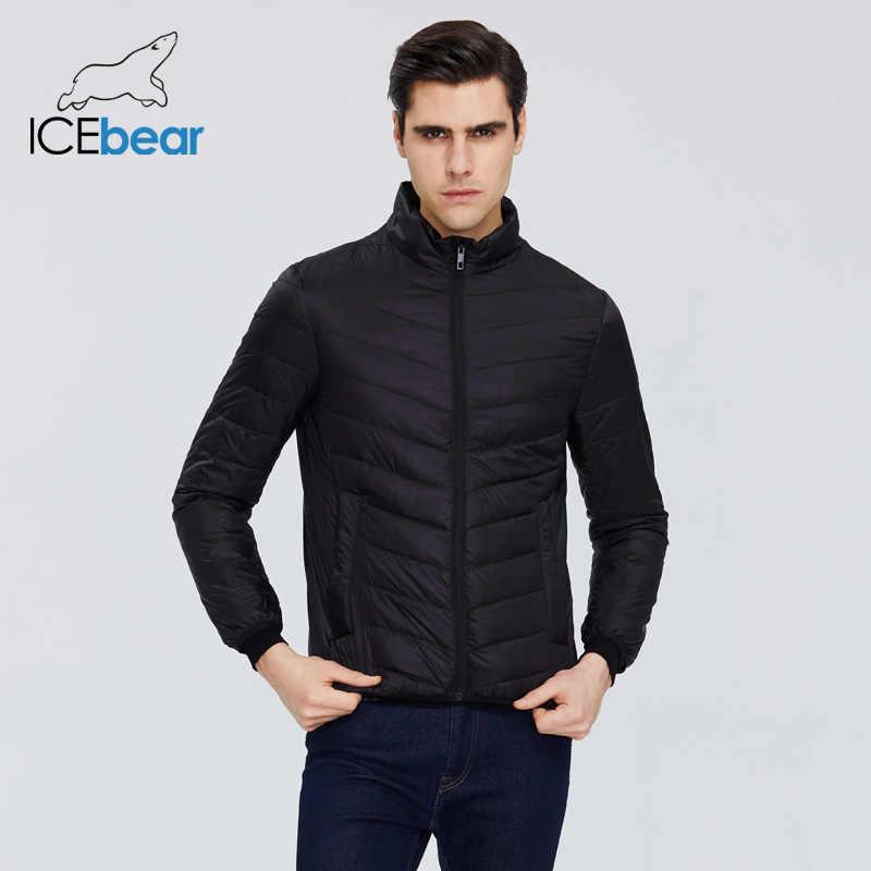 ICEbear 2020 חדש קל משקל גברים של איכות מעיל זכר מעיל גברים אביב מעיל חם גברים בגדי MWY19999D
