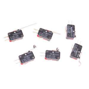 V-151-1C25 V-152-1C25 V-153-1C25 V-154-1C25 V-155-1C25 V-156-1C25 SPDT 1NO 1NC Momentary Actuator Micro Switch