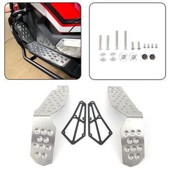 For Honda X-ADV XADV 150 750 XADV750 XADV150 2017 2018 2019 Footrest Footboard Foot Board Step Rest Pedal Plate Pad