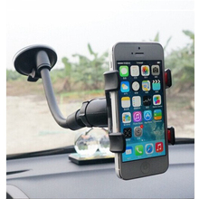 Rsionch Car Phone Holder Flexible Mobile Bracket 360 Degree Ratation Mount for Smartphone