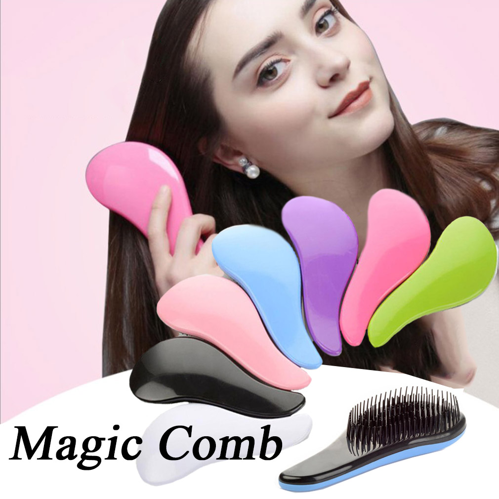 1pcs Anti-static Detangling Hair Brush Hot Magic Comb Teaser Tangle Wet Shampoo Brush Styling Tool  Exquisite Cute CW31