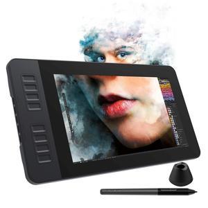 Графический дисплей для рисования GAOMON PD1161, 11,6 дюйма, IPS Full HD, с 8 клавишами быстрого доступа и 8192 уровнями, стилус без батареи