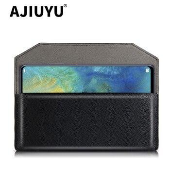 Перейти на Алиэкспресс и купить Чехол для Huawei Mate X S 5G чехол mate xs защитный чехол из искусственной кожи для Huawei mate 20 x xs 5g Мобильный телефон сумка