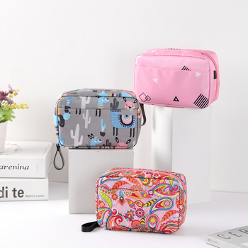 Travel cosmetic bag girls cosmetic bag makeup beauty toiletry organizer cosmetic bag storage bag bath box
