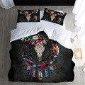 Лучшие. WENSD печать 3d Ловец снов king size постельное белье Хлопок Постельный набор богемный Супер Удобный пододеяльник наборы 100% хлопок