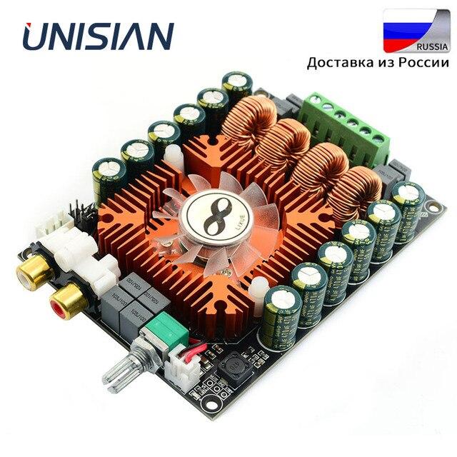 Scheda amplificatore unisiana TDA7498E classe D audio 2.0 canali Hifi BTL mono 220w amplificatori ad alta potenza per sistemi audio domestici