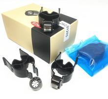 4 adet marka yeni 28239295 siyah kontrol vanaları 9308 622B 9308Z622B 28278897 Euro 4 vanalar dizel sabit basınçlı püskürtme enjektörü sistemi
