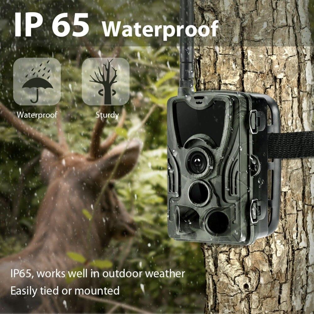 Cámara de caza HC801A 3GHC801G 2G HC801M 4G cámaras de seguimiento versión nocturna 16mp 1080p MMS SMS vigilancia vida silvestre cámara de Chasse - 5
