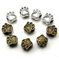 10 шт., бусины-разделители для браслетов и ожерелий, 4,5 мм