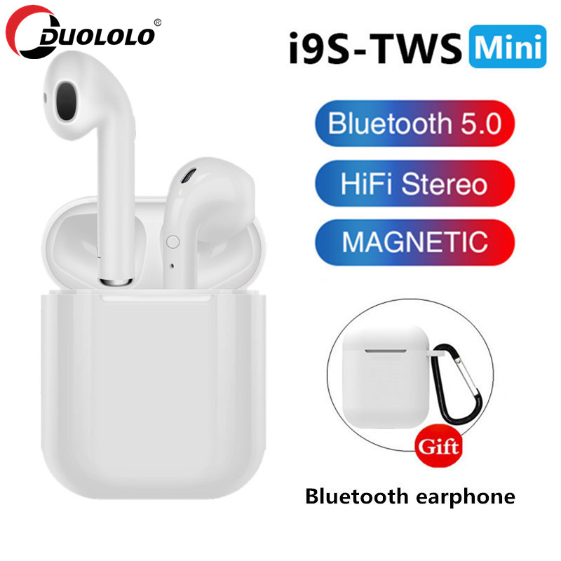 I7S I9S TWS Mini Bluetooth Earphone Wireless Headset Portable Invisible Earbud For All Smart Phone For Xiaomi IPhone Earphone