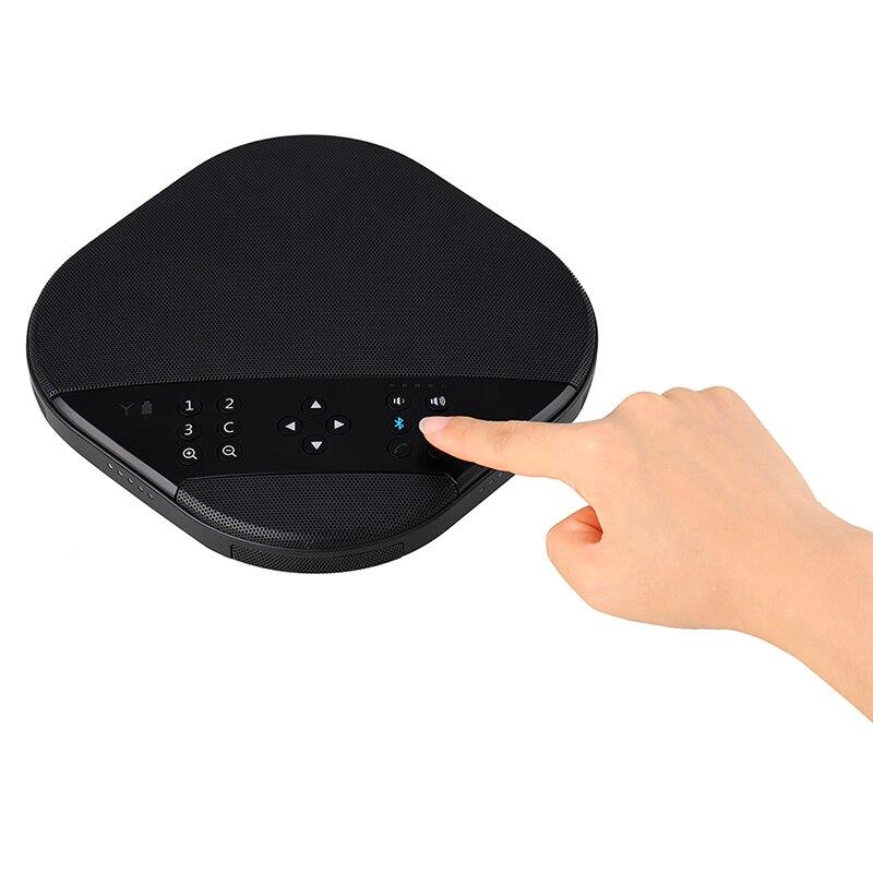 Tenveo va3000e 2mp 10x zoom solução de vídeo conferência de áudio sistema de videoconferência grupo speakerphone e hub para transmissão-5