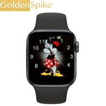 2020 Iwo 13 Horloge Serie 5 Smart Horloge 1:1 Siri Ecg Spelen Muziek Bluetooth Call Smartwatch 44 Mm Voor Apple iphone Android Telefoon(China)