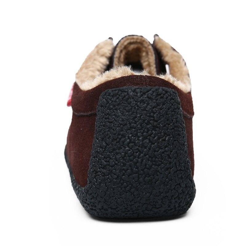 Big Size 50 Winter Pluche Warm Houden Mannen Koe Suède Schoenen Mode Mannen Flats Schoenen Casual Mannelijke Lederen Schoenen mannen Sneakers - 5