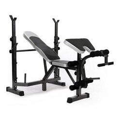 Haushalt Multifunktionale Gewichtheben Bett Hantel Gewicht Bank Barbell bett Squat Rack tragen kann 300KG