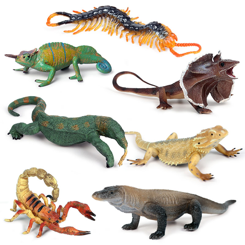 Lizard/Spider/Bat Animal Figure Collectible Toys Tricky Animal Action Figures Kids Plastic Cement Toys