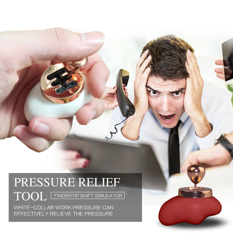 Stress Reliever Toys Fingertip Decompression Artifact Car Changing Gear Manual File Adult Children Vent Toys Anti-stress 5Color