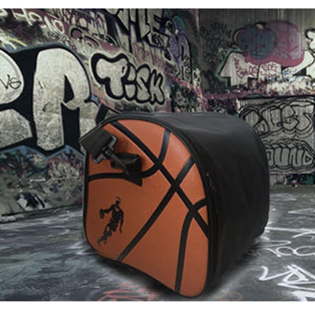 Портативная баскетбольная сумка, Высококачественная сумка для хранения баскетбола из ПУ, спортивная сумка для фитнеса, сумка для хранения ключей, водное стекло и обувь k2-3