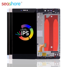 5.0 LCD For HUAWEI P8 Display with Frame Replacement Huawei Touch Screen Digitizer Assembly GRA-L09 GRA-UL00