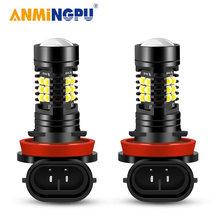 Противотуманные светодиодные фары anmingpu 1 шт h11 h8 h9 9005/hb3