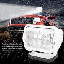 50W Auto FÜHRTE Taschenlampe Suchscheinwerfer Automotive Marine Suche Licht für Lkw SUV Yacht Boote