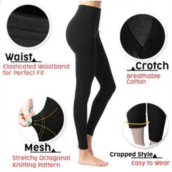 2019 Hot Women Sculpting Sleep Leg Shaper Leggings Body Shaper Slimming Pants CGU 88