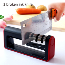 Knife Sharpener Professional Kitchen Sharpening Stone knives Whetstone Tungsten Steel Diamond Ceramic Knives Accessories