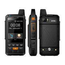 UNIWA Альпы ф50 2Г/3Г/4Г Zello рация Android смартфон четырехъядерных мобильных телефонов MTK6735 1 ГБ+8 Гб ROM усилитель сигнала