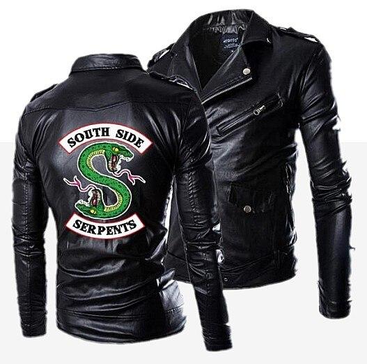 2019-New-Autumn-Men-s-PU-Leather-Riverdale-Southside-Serpents-Jacket-For-Men-Fitness-Fashion-Male