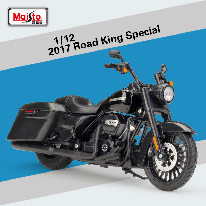 1:12 2017 Road King Special Maisto Model Car Metal Diecast Model Sport Race Motorcycle Model Motorbike For Collectible